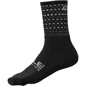 Alé Cycling Bullet Q-Skin Socks 16cm Men, black/white